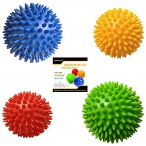 Apple Round Four Spiky Massage Balls