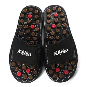 Kkika Rotating Accupressure Massage Men Shoes and Women Shoes