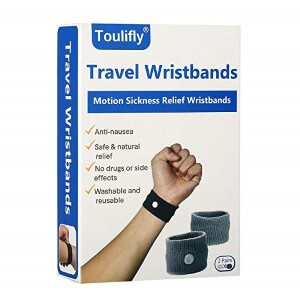 Toulifly Travel Wristbands