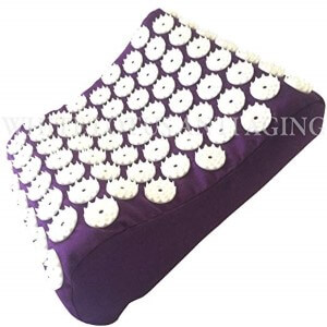 White Lotus Acupressure Pillow