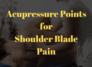 Acupressure Points for Shoulder Blade Pain